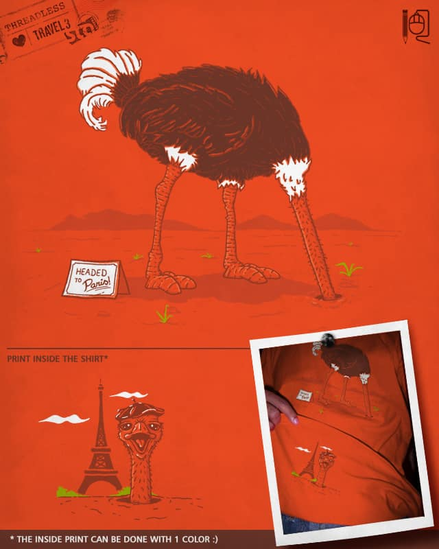 Headed to Paris by rodrigobhz on Threadless