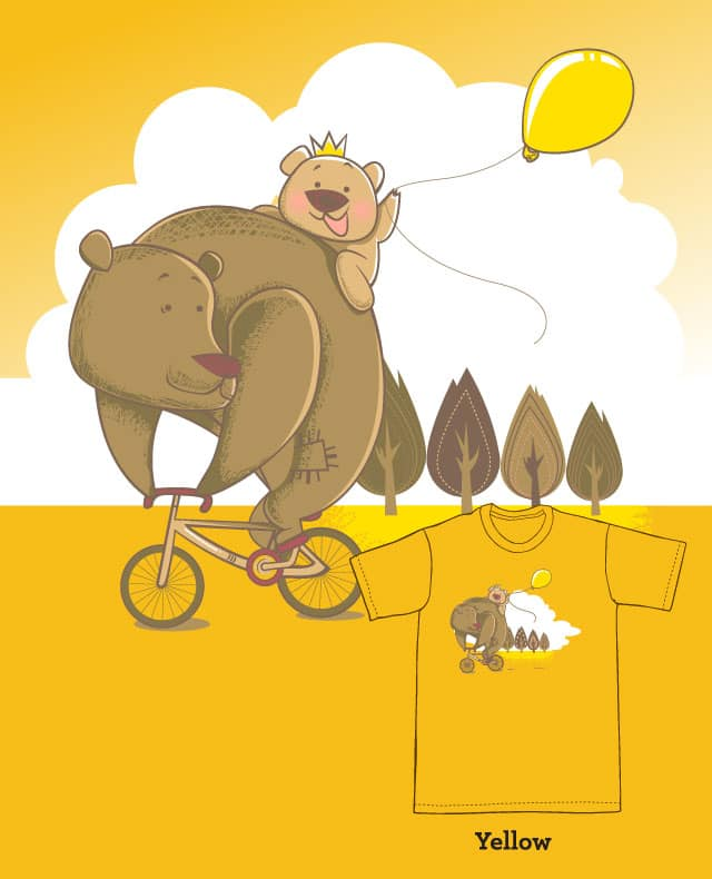 Sunday Ride by ZhetYouth on Threadless