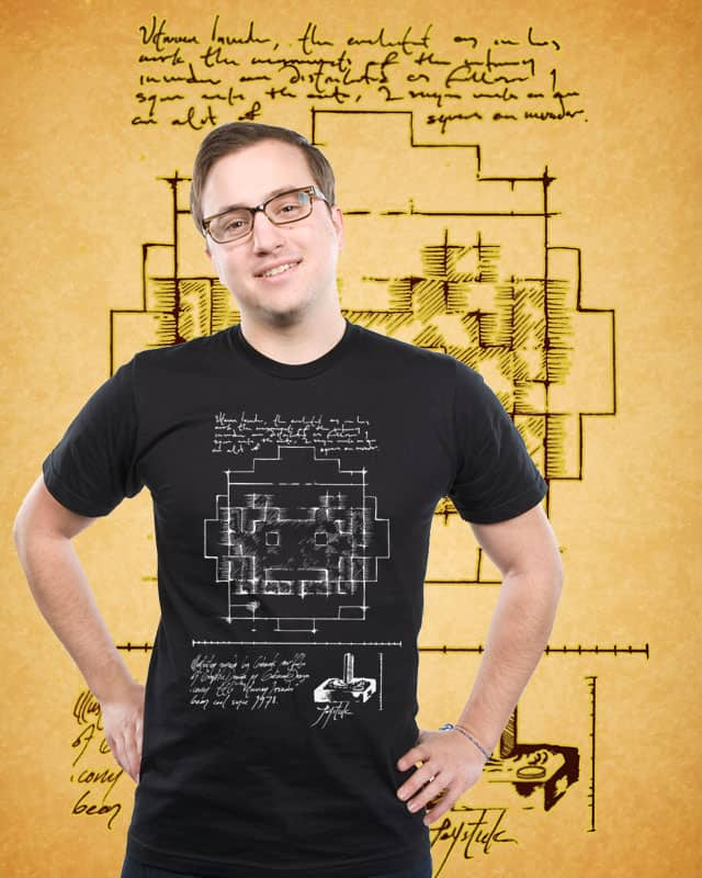 Vitruvian Invader by gobseck on Threadless