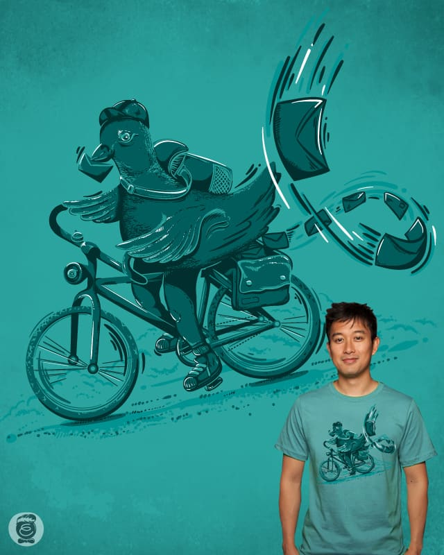 advanced messenger pigeon by Robert_Richter on Threadless