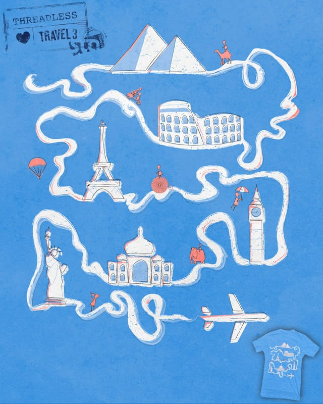 Air Travel by ClariceC on Threadless