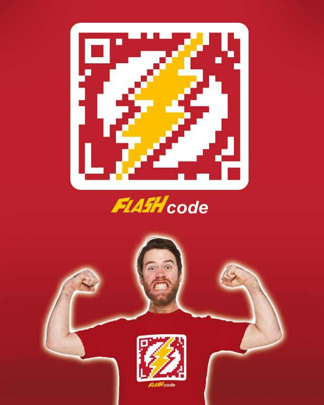 FLASHcode by CousinMachin on Threadless