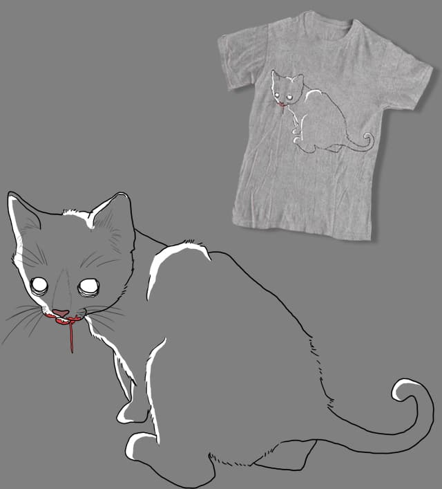 A Cat's 9th Life by pindian on Threadless