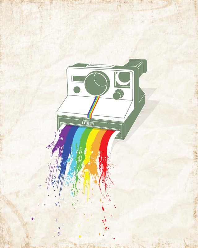Rainboid by M.Awwad on Threadless