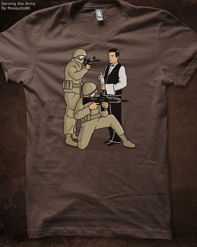 Serving the army by Mosquito88 on Threadless
