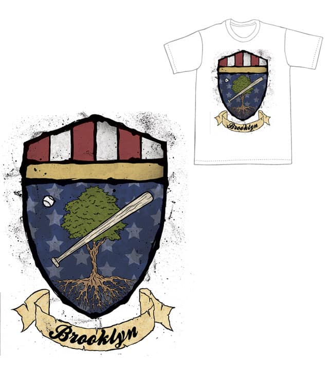 Whatever happened to the Brooklyn Dodgers? by tizniz on Threadless