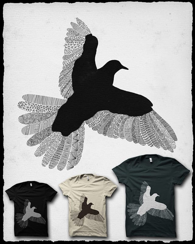 Bird by speakerine on Threadless