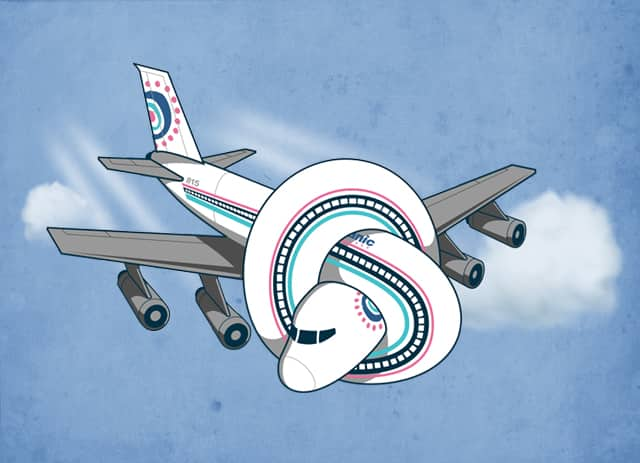AIRPLANE 815! by ounom on Threadless