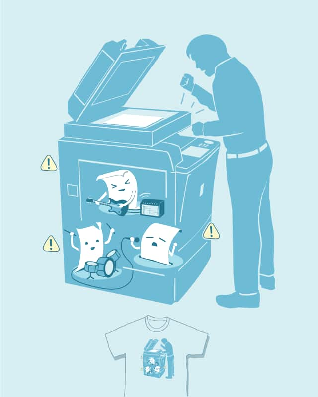 Paper Jam! by nathanwpyle at gmail.com on Threadless