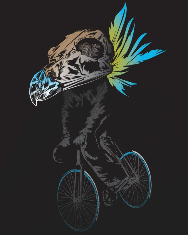 Pedal Warrior by DKelmer on Threadless