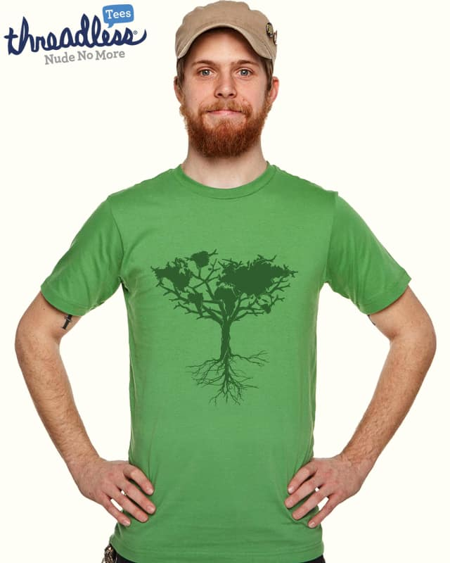 Earth tree '11 by yanmos on Threadless