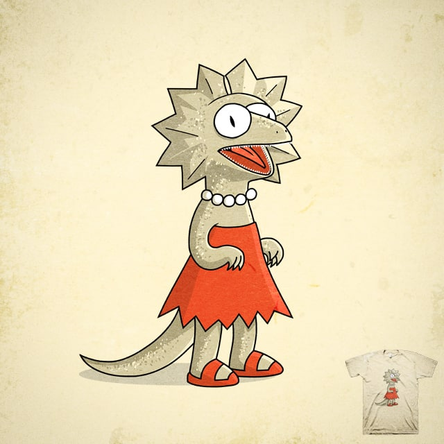 lisard by dock icon on Threadless