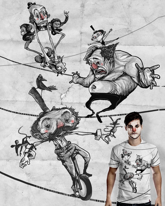 T-shirt equilibrium by chinellatto on Threadless