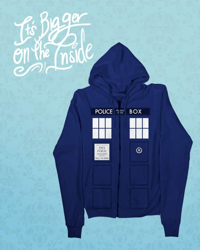Time Hoodie by Hat_Boy on Threadless