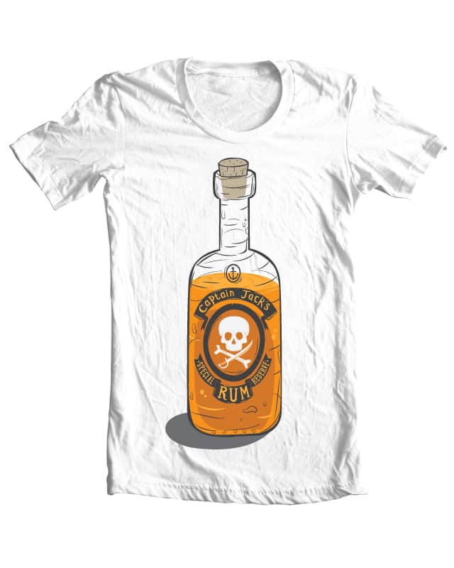 Captain Jack's Special Reserve by Wharton on Threadless