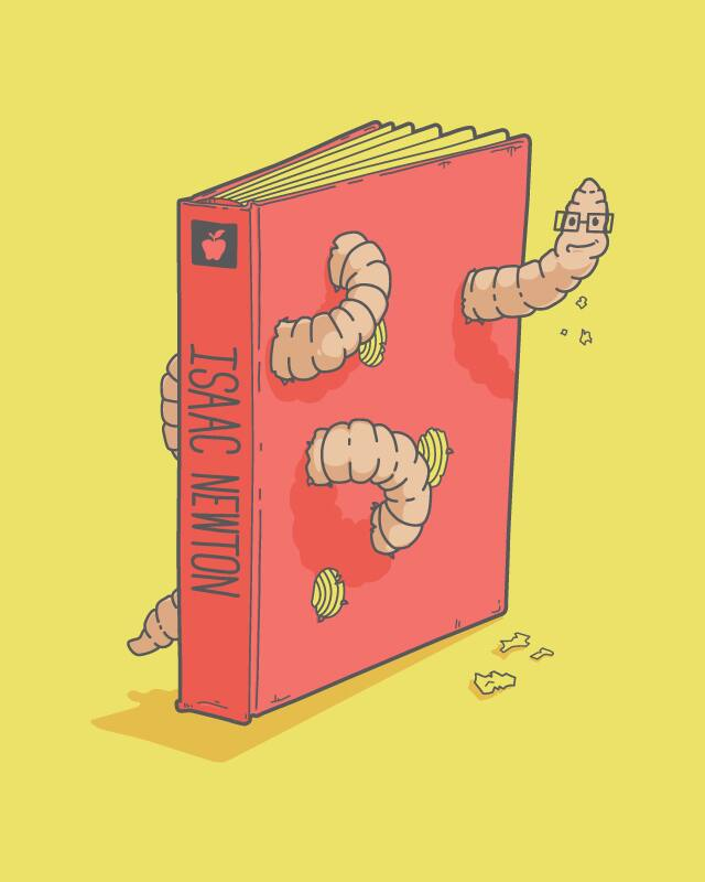 Bookworm by Lockhart_Design on Threadless