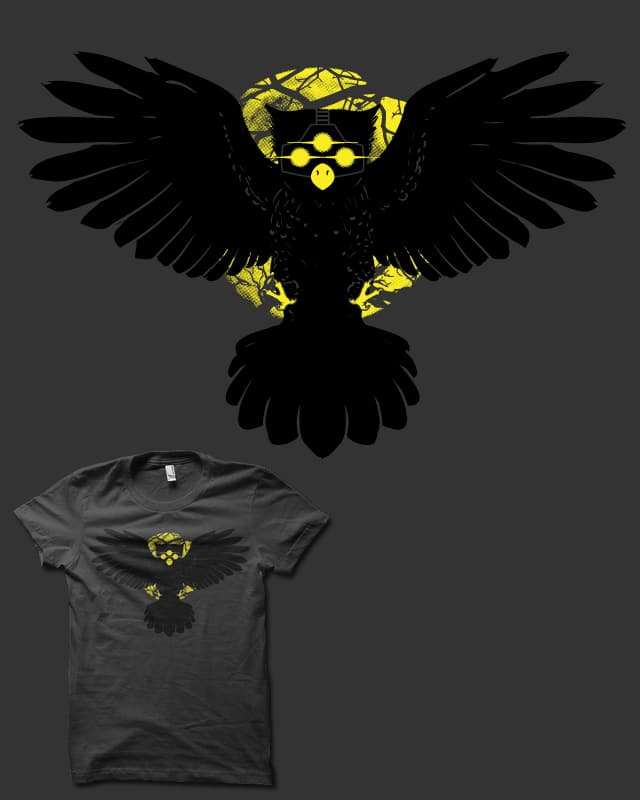 Midnight Owl-Ops by biotwist on Threadless