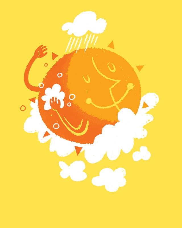 Sun Shower by Leftist Jesuit on Threadless