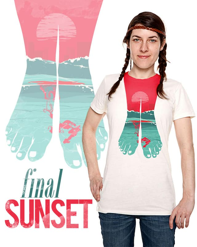 Final Sunset by Huevart on Threadless