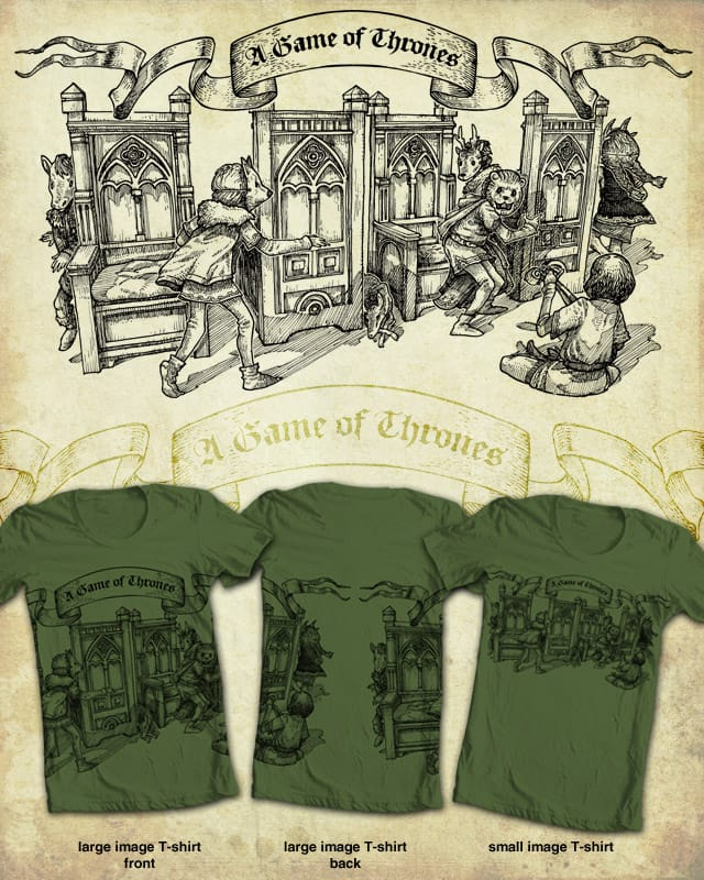 A  game of thrones by Mr-R on Threadless