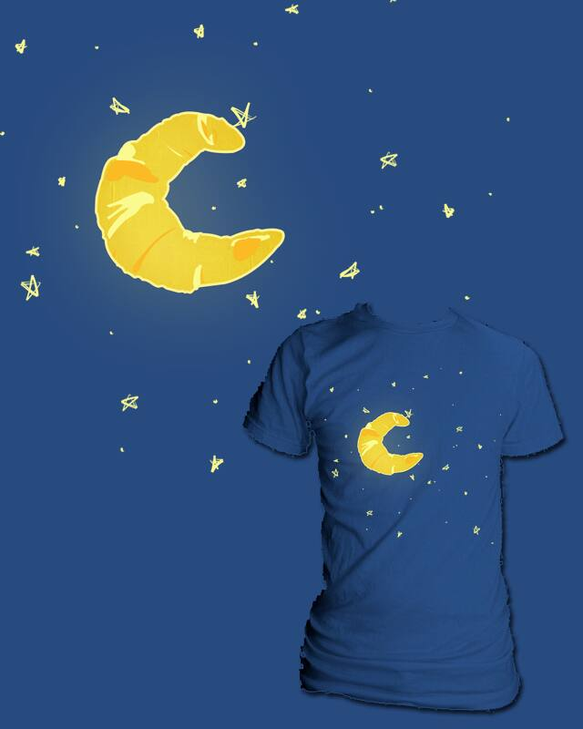 Croissant Moon by Evan_Luza on Threadless