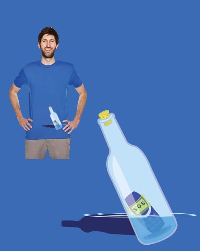 Text Message In A Bottle by Evan_Luza on Threadless