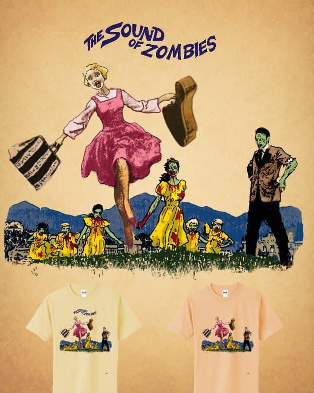 The Sound Of Zombies. by Ivantobealone on Threadless