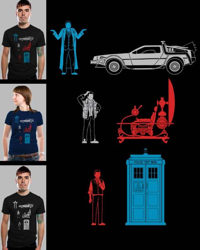this is not my time machine by boostr29 on Threadless