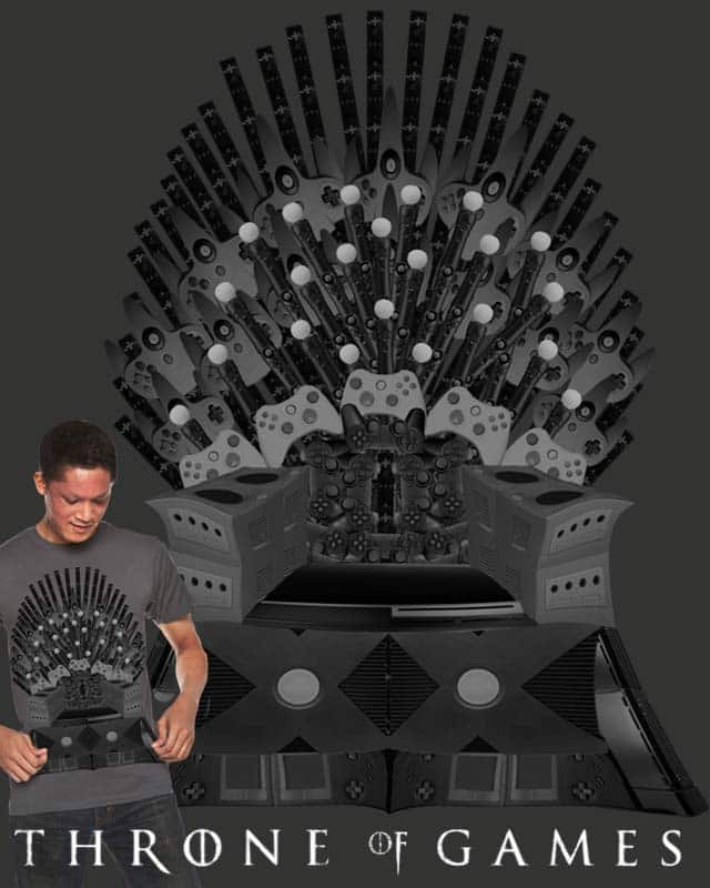 Throne of Games by tmbroder01 on Threadless