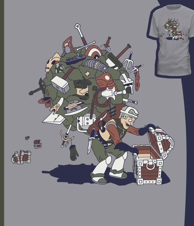 Loot Collector by brainrust on Threadless