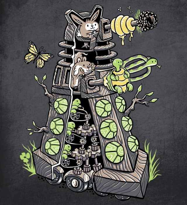 Exterminators of the woodlands by herky on Threadless