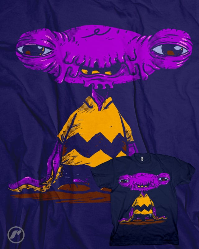 Alien Brown by RazCity on Threadless