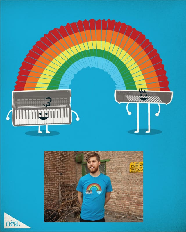 rainbow song by ndikol on Threadless