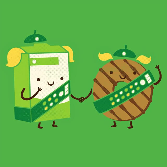 Girl Scout Cookies by pilihp on Threadless