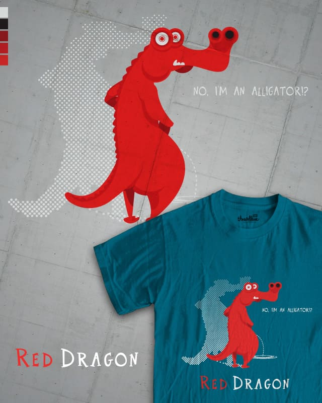 Red Dragon by Jupiteriano on Threadless