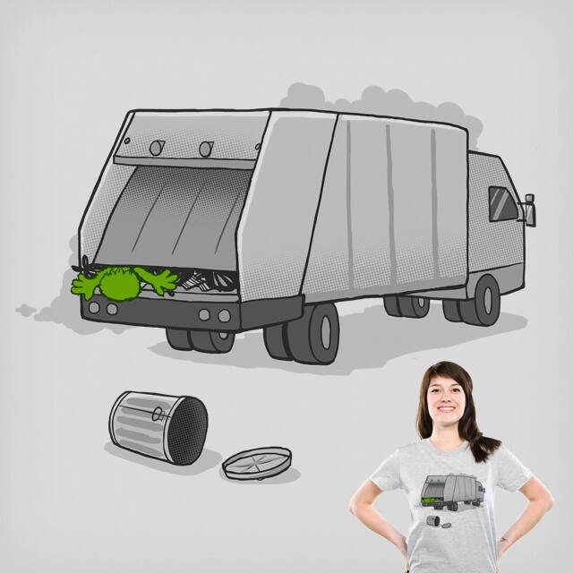 Sesame St. Waste Collection by the Sleeping Sky on Threadless