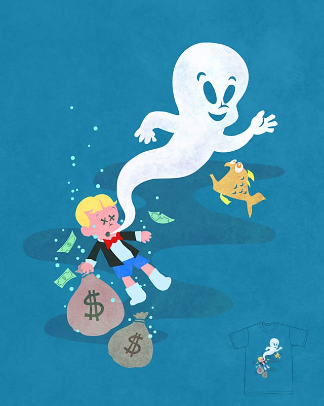 Where Do Friendly Ghosts Come From? by sirdiddymus on Threadless