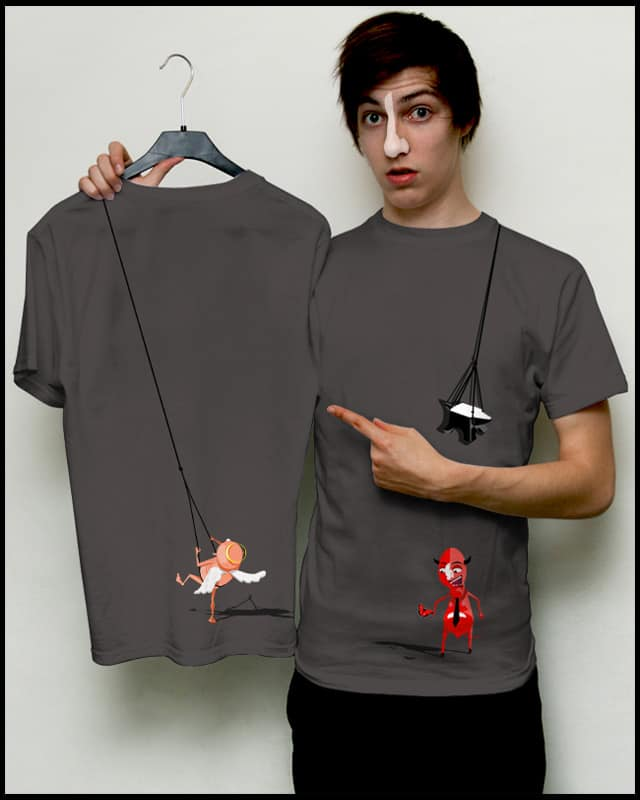 angel-devil by Jupiteriano on Threadless