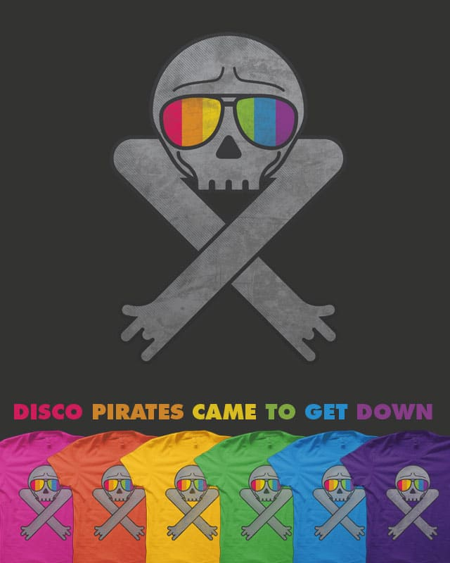 Disco pirates came to get down