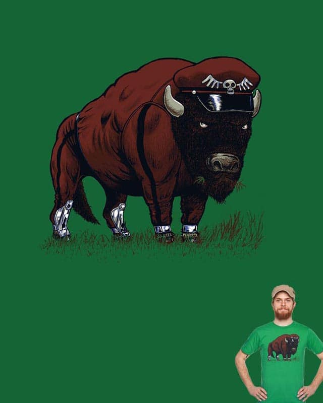 The famous BISON by choubaka360 on Threadless