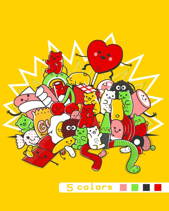 Gummy party by SaMtRoNiKa on Threadless