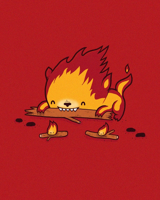 His burn is worse than his bite by randyotter3000 on Threadless