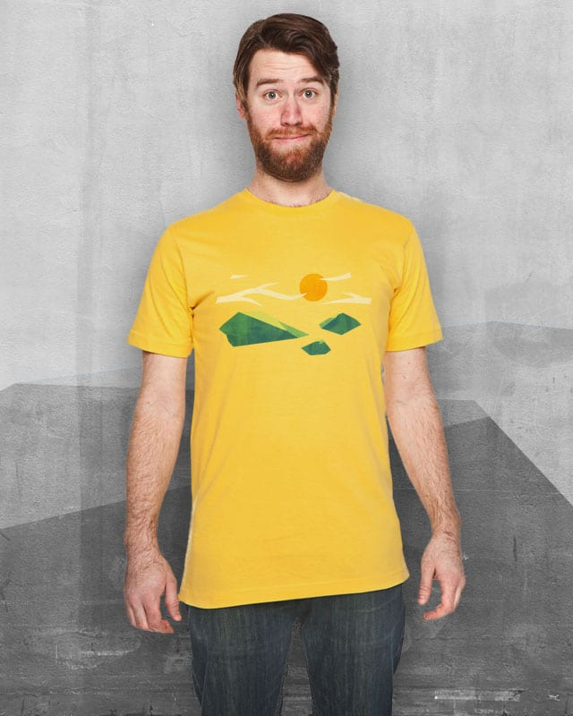 Out there... by benju on Threadless