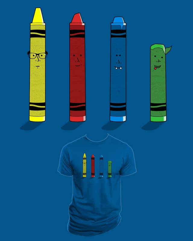 Not The Sharpest Crayon V2 by Resistance on Threadless