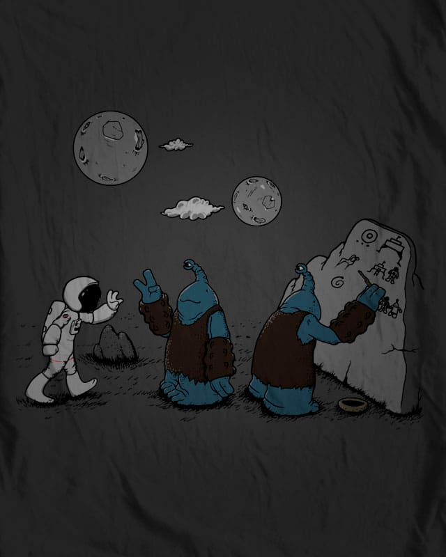 rock painting evidence by lugepuar on Threadless