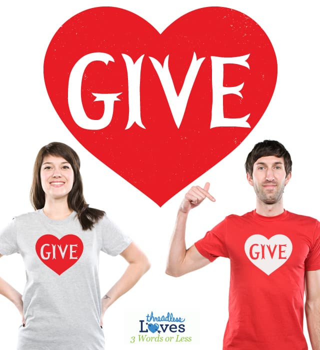 Give Love by lunchboxbrain on Threadless