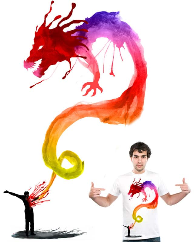 Unleash The Dragon by Zen Studio on Threadless