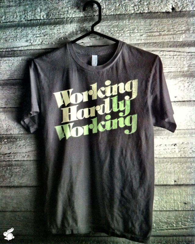 Working hard... by arzie13 on Threadless