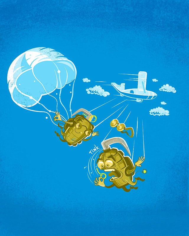 Bomb's Away! by FRICKINAWESOME on Threadless