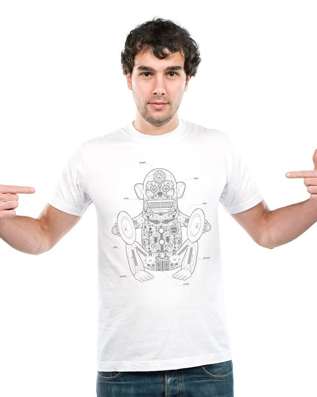 The Clapping Monkey by .java on Threadless